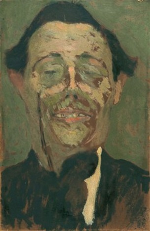 lhomme au monocle by amedeo modigliani