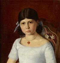porträt eines mädchens by armand hubert simon leleux