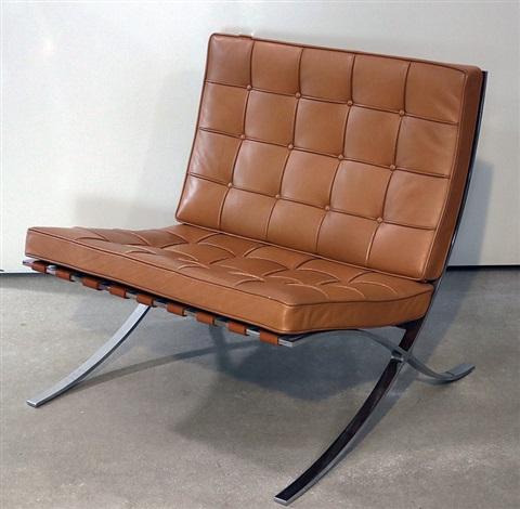 Sessel Mr 90 Barcelona Chair By Ludwig Mies Van Der Rohe On Artnet