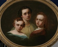 family portrait by thomas hicks