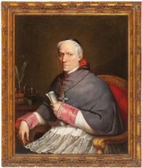 retrato de un cardenal by charles nicolas rafael lafond