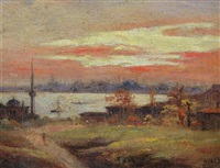view of istanbul by halid naci