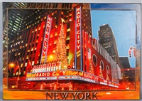 radio city music hall (large) by steve kaufman
