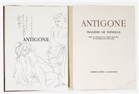 sophokles: antigone (bk w/1work, 4to) by hans erni