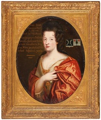 retrato de isabeau de prat by pierre mignard the younger