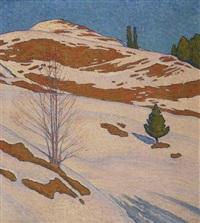 dernières neiges by pierre-philippe godet