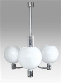 un lampadario della serie am as by franca helg and franco albini