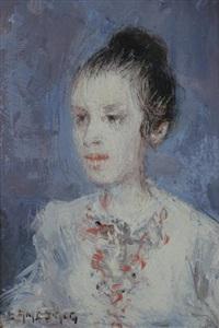 dama de blanco by eduardo amezaga