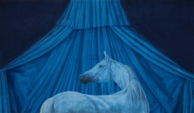 夜中昼 horse by xu lei