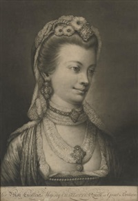 her most excellent majesty charlotte queen of great briain by j. spilsbury