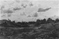 heidelandschaft by joseph rummelspacher