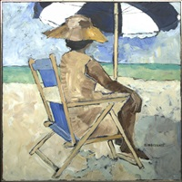 at the beach by rise delmar ochsner