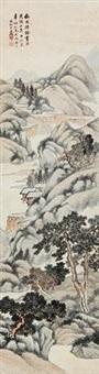 松柏长寿 (landscape) by dai yiheng