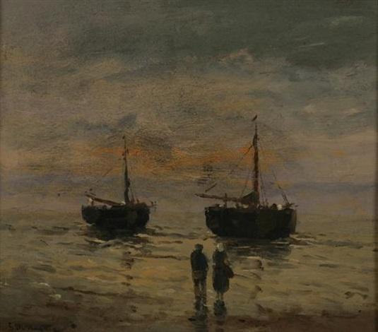 fishing boats by gerhard arij ludwig morgenstjerne munthe