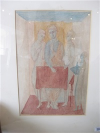 holy scene untitled, english by justin maurice o'brien