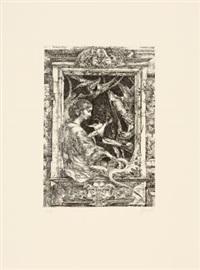 15 radierungen (portfolio of 15 w/colophon) by heinz zander