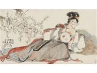 reclining lady by cheng shifa