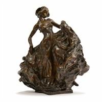 la danseuse by carl (wilhelm emile) milles