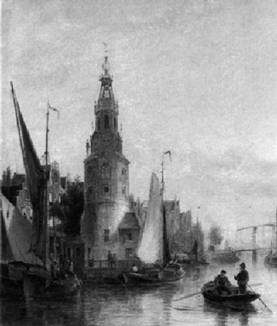die oude schans in amsterdam by marie lucie cornelius