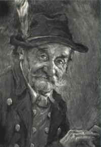 portrait of a bavarian gentleman by hans barttenbach
