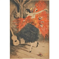 spanish dancers by louis icart