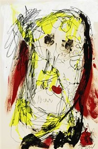 figure composition by asger jorn
