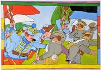 schlacht bei galizien 1914 by josef wittlich