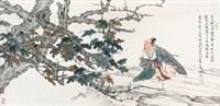 听琴图 by ren zhong