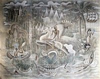 mural - the americas by maurice (pico) picauld