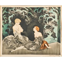 intimacy by louis icart