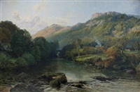 the river llugwy, bettws y coed by frederick william hulme