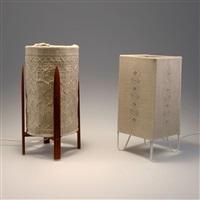 zwei tischleuchten (pair) by l'ateljé lyktan