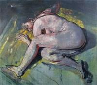 reclining nude by henry korda