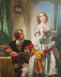 scene from romeo and juliet by henry courtney selous