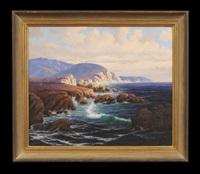 canyon river scene by richard kruger