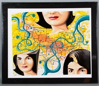 the three faces of jackie the american by kenny scharf