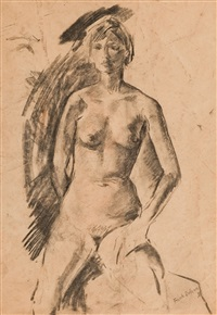 study from life by frank dobson