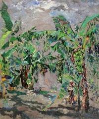 正午的香蕉林 (banana plantation at noon) by huang li