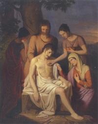 den hellige sebastian fär renset sine sår by josef arnold the elder