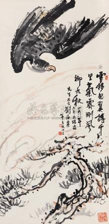 苍鹰 goshawk by liu haisu
