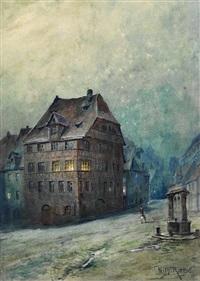 geburtshaus dürers by wilhelm ritter