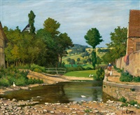 the village stream by adolf luntz