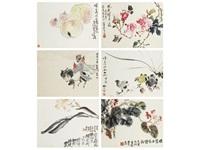 album of paintings (album w/26 works) by ya ming