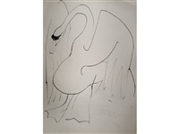 a study of a swan by sven berlin