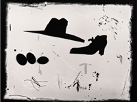 shoe, hat and eggs, new mexico by joel-peter witkin