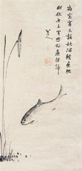 鲈鱼图 by bada shanren