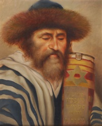 russischer rabbiner by jacob alt