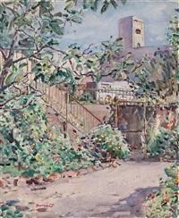el jardín de la casa del artista by josé amat pagés