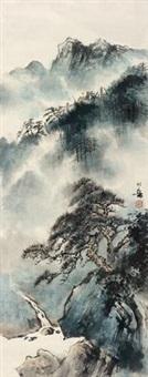 山水 by huang huanwu