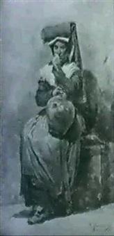 peasant figures by daniele bucciarelli